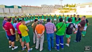 At Mancha Real inicio temporada 2014/2015
