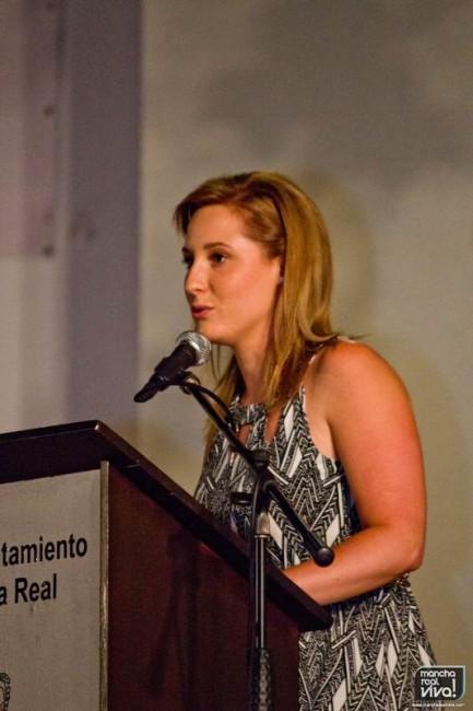Elena Martínez fue la presentadora del evento