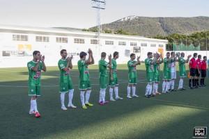 El Atlético Mancha Real en el inicio de la pretemporada 2014