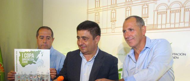 Francisco Reyes en el sorteo de la Copa Diputación