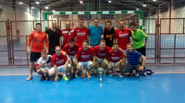 Equipo campeón de Fútbol Sala