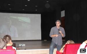 Antonio Oliver durante su intervención.