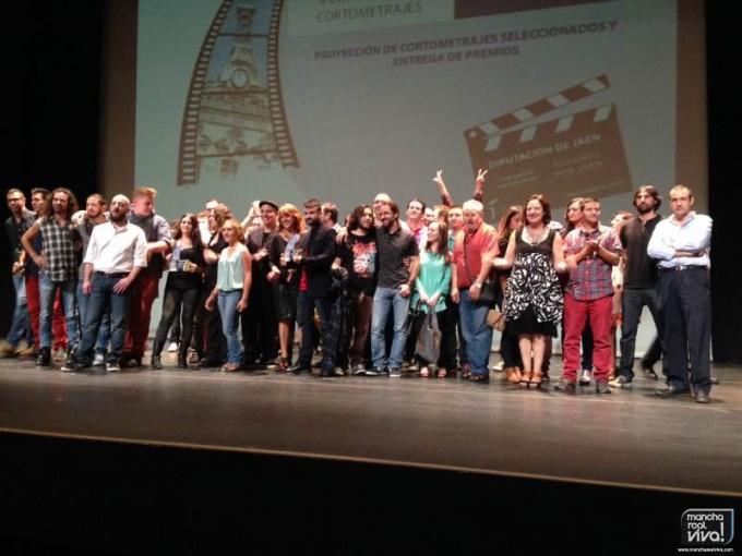 Foto de grupo con todos los finalistas