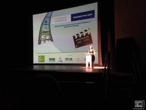 La jiennense Rosario Pardo fue la encargada de presentar el evento