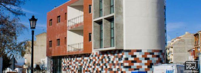 Obras iniciales del Centro de Dia y Noche. Foto de Archivo 2011.