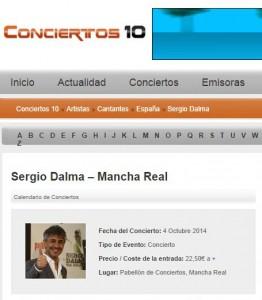 Web Conciertos 10
