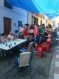 Fiesta en la calle Sancho 2014