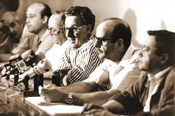Imagen de archivo de Rafael Soria Sales, en su época como presidente de la CEJ.