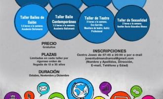 """Abierto el plazo de inscripción para los """"Talleres'14"""" del Centro Joven"""