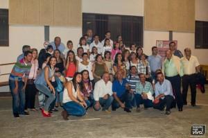 Foto de grupo de la Asociación Provincial de Padres de Niños con Cáncer