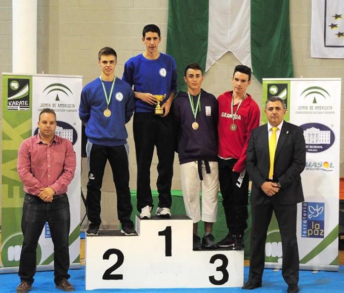 Fernando Sánchez Campeón de Andalucia en combate