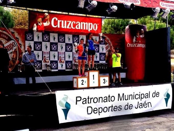 Mari Carmen Rosa subcampeona femenina de la Media Maratón de Jaén