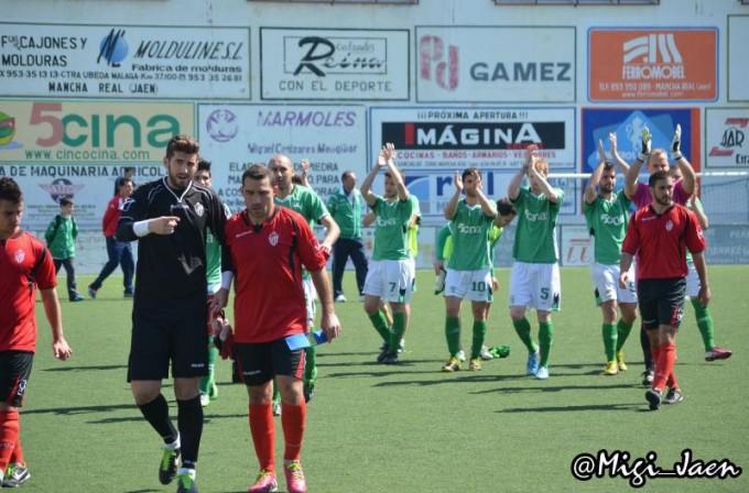 Los verdes se llevaron la victoria en el último partido frente al Atarfe