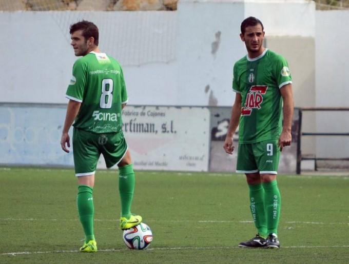 Juanlu cayó lesionado. Carrillo hizo el gol
