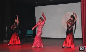 Durante una de las actuaciones