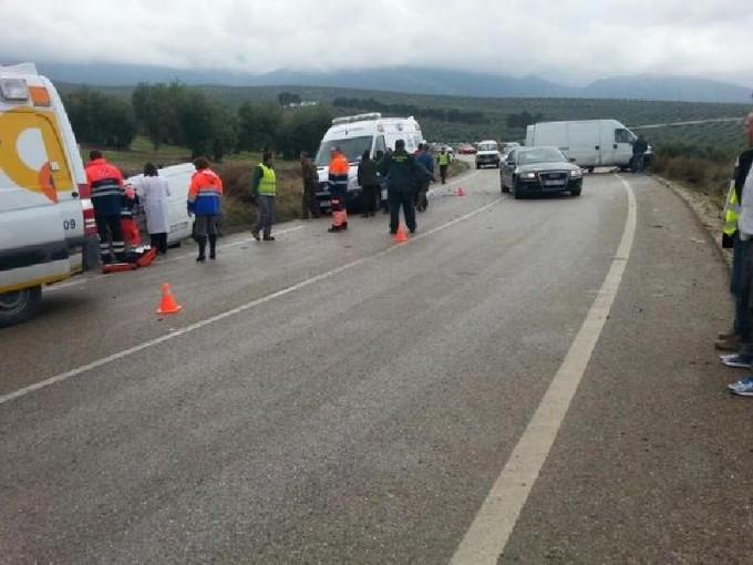 El accidente ha ocurrido a la altura del kilómetro 7. Foto: Policía Local