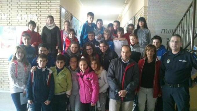 Selección de alumnos para el concurso de Educación Vial