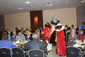 Los Reyes Magos pasaron por el chocolate de jubilados