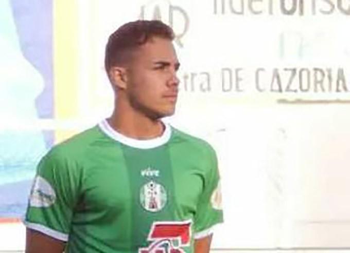 Miguel Linares en la presentación con el club este pasado verano