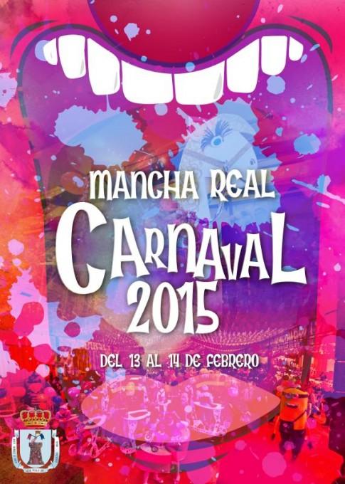 Cartel anunciador del Carnaval 2015