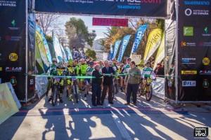 Salida de la Andalucía Bike Race 2015