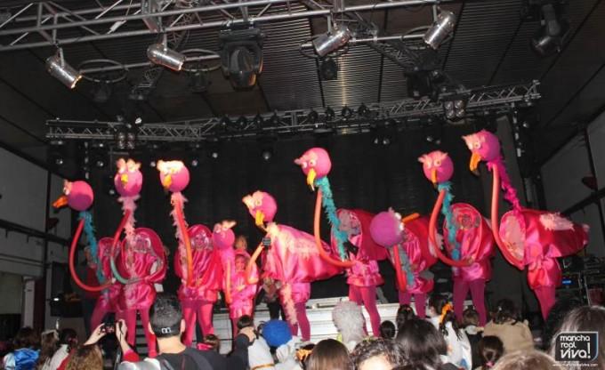 Primer premio de 8 o más - Los Flamencos