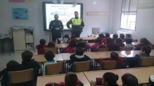 El alumnado conoció la labor de la Policía Local