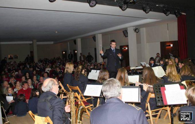 Banda de Educandos durante el concierto