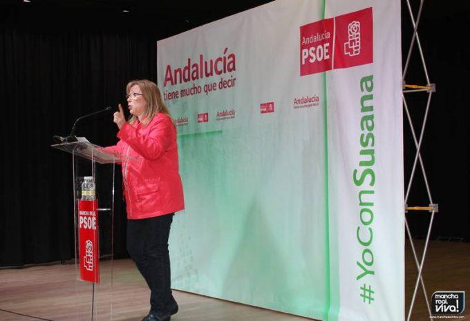Micaela Martínez, Alcaldesa de Mancha Real