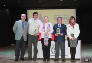 1º Premio Oleozumo y 2º MONVA, con las autoridades