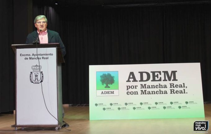 Alfonso Martínez de la Hoz durante su intervención