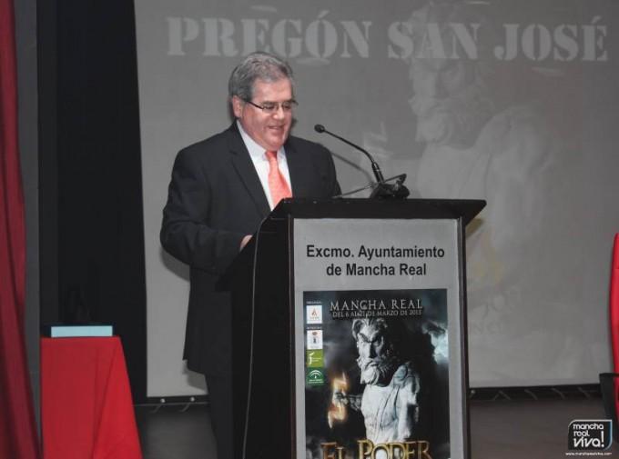 Pedro López Yera pregonero de San José 2015