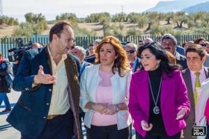 Visita de la Presidenta de la Junta de Andalucía a las instalaciones