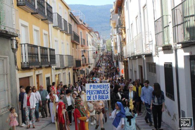 El número de personas que siguió la procesión fue espectacular