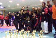 Photo of 23 copas para el club «Kenpo Systemando Studios» en el Campeonato de Andalucía de Kenpo