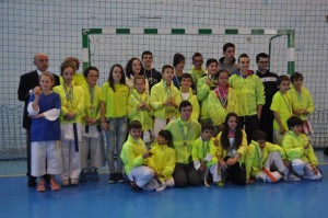 Participantes del Gimnasio Okinawa de Mancha Real