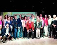 Acto del PSOE de Mancha Real en la presentación de su lista electoral