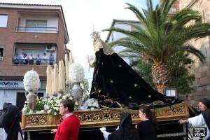 Salida de la Virgen de los Dolores