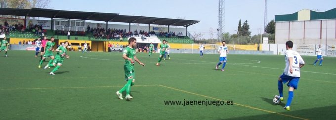 El At. Mancha Real realizó un gran partido y mereció más. Foto: jaenenjuego
