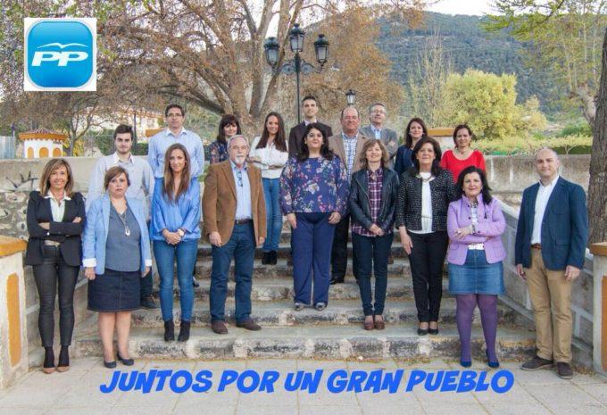Foto de grupo del Partido Popular de Mancha Real