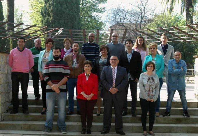 Foto de grupo para las Municipales 2015