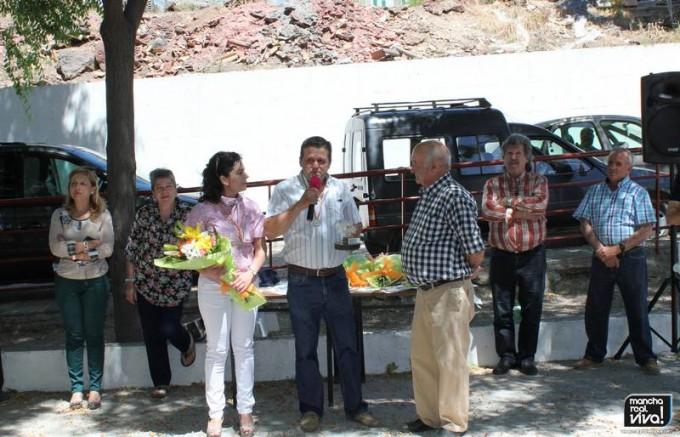 Agricultor 2015  Juan A. Olmo Guerrero y su esposa