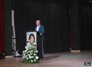 Tomás Páez presentó el acto