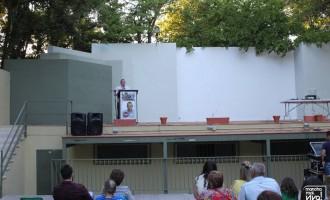 Acto Festivo de IU en el Auditorio Municipal
