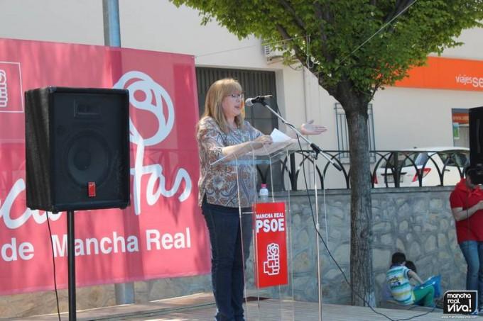 Micaela Martínez explicaba su gestión