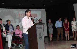 Ernesto Angulo número 2 en su intervención