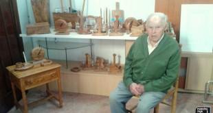 Juan Barrios Gómez, toda una vida dedicada a su pasión, la carpintería