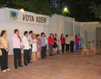 El grupo independiente ADEM presenta su candidatura en el Auditorio Municipal