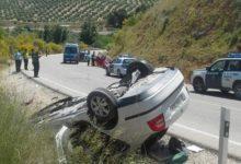 Photo of Heridas dos personas en una colisión entre dos vehículos en la A-320 entre Mancha Real y Jimena