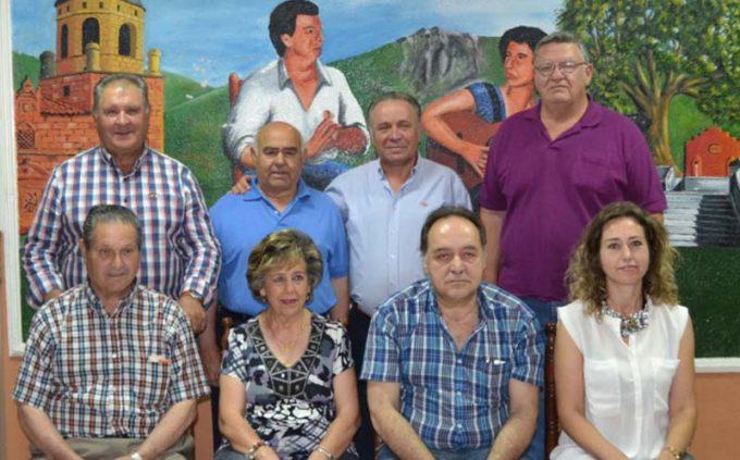 """Nueva directiva de la Peña Flamenca """"El Trillo"""""""